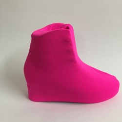 Cache-Patins Rose FLuo