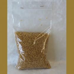 Glass Bead Gold Dark