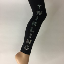 Legging Noir Twirling ARIAL