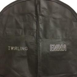 Cover Garment Twirling - susname rhinestone