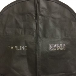 Housse Costume Twirling - Prénom Strass