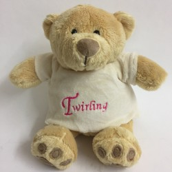 OURS HONEY TEDDY TWIRLING