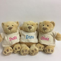 Teddy bear - Embrodery First Name