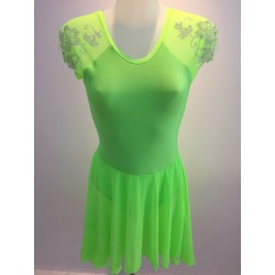 Tunique ELEONORE DANSE GREEN NEON