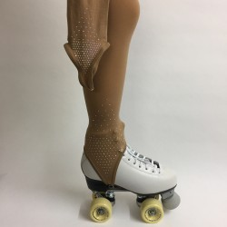 Tight Fette Flesh Stirrups : Losange Rhinestone